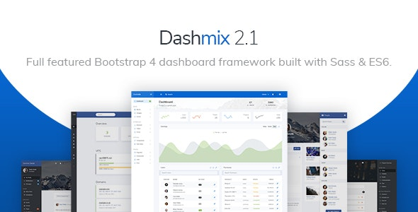 Dashmix - Bootstrap 4 Admin Dashboard Template & Laravel 6 Starter Kit - Admin Templates Site Templates