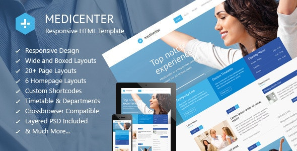 MediCenter - Health Medical Clinic Template - Health & Beauty Retail