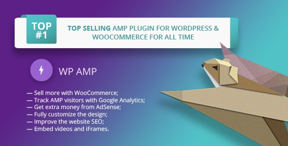 WP AMP — Accelerated Mobile Pages for WordPress and WooCommerce - CodeCanyon Item for Sale