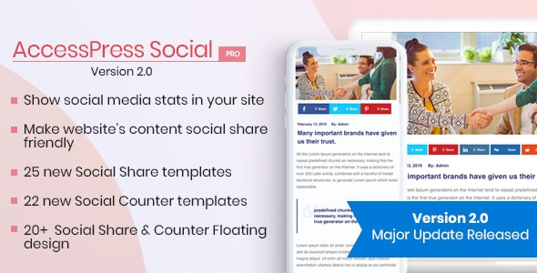 AccessPress Social Pro - CodeCanyon Item for Sale