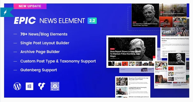 Download Epic News Elements Nulled