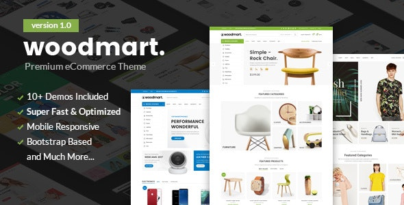 Woodmart - Responsive Shopify Template - Fashion Shopify