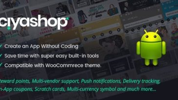CiyaShop Native Android Application based on WooCommerce - CodeCanyon Item for Sale