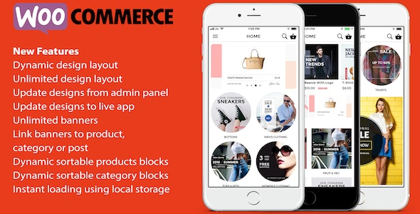 ionic 3 App for WooCommerce - CodeCanyon Item for Sale