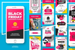 Black Friday PSD for Instagram
