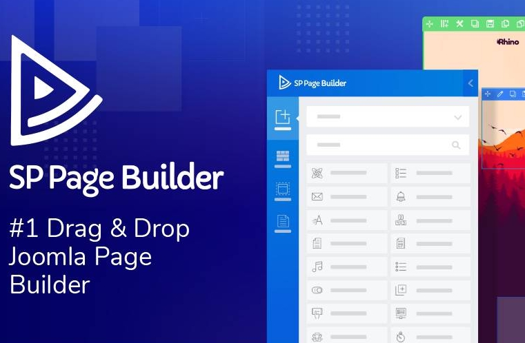SP Page Builder Pro Nulled Joomla 페이지 디자이너