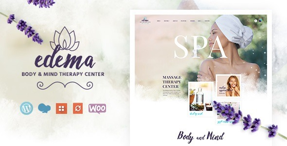 Edema Nulled - Wellness & Spa WordPress Theme Edema-download