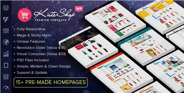 KuteShop-Fashion-Electronics-Marketplace-WooCommerce-Theme-(RTL Supported)-Nulled-Download