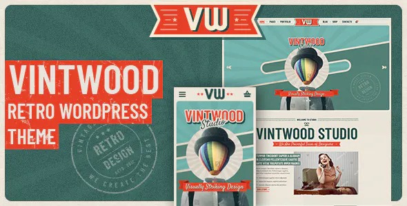 VintWood-a-Vintage-Retro-WordPress-Theme-Nulled-Download