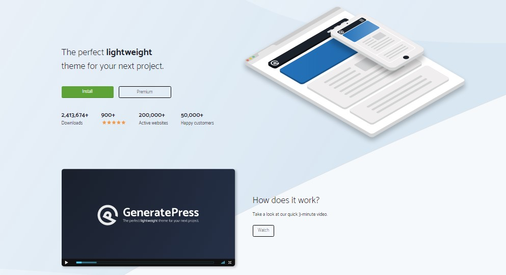 GeneratePresss Nulled Premium Wp Theme