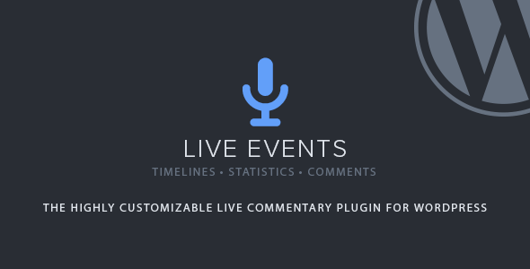 Download Free Live Events WordPress Plugin Nulled