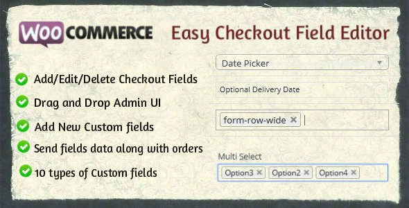 Woocommerce-Easy-Checkout-Field-nulled-demo