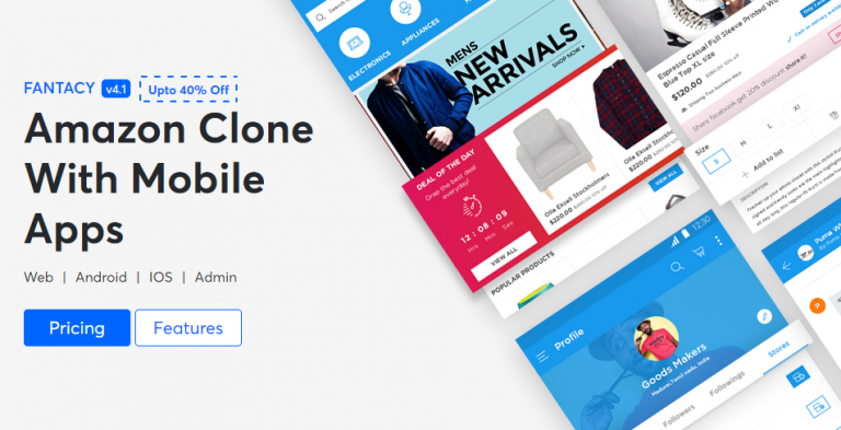 Fantacy - Amazon Clone Nulled Php Script Download