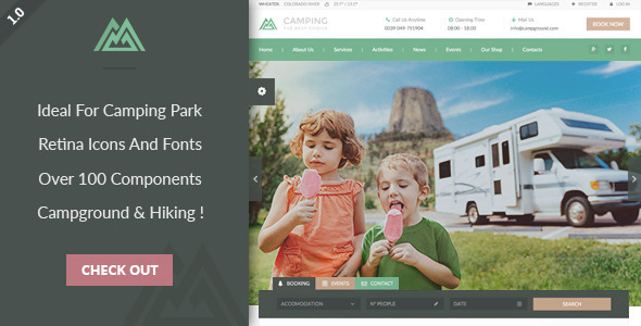 Camping-Village-nulled-download