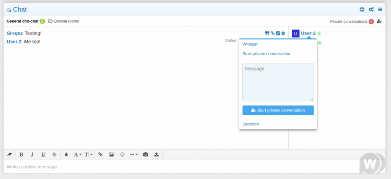Chat 2 by Siropu-Nulled-Download