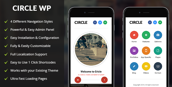 Circle-Mobile-nulled-demo