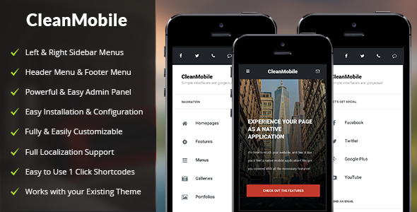 Clean-Mobile-nulled-demo