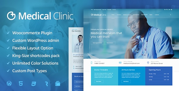 Medical-Clinic-nulled-demo