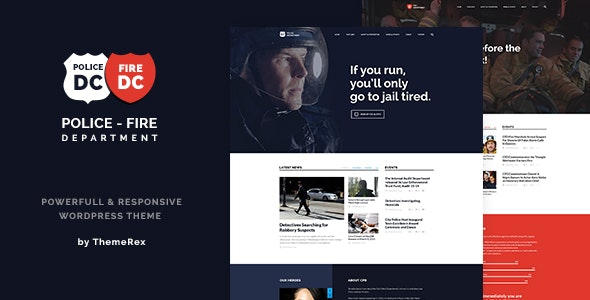 Police&Fire-Department-nulled-demo