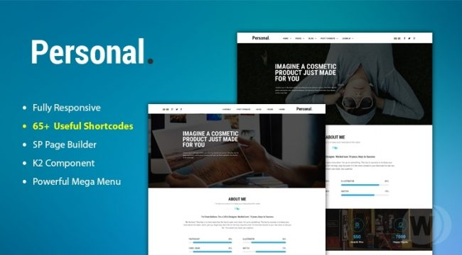 Sj-Personal-demo-nulled