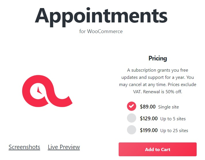 WooCommerce-Appointments-nulled-demo