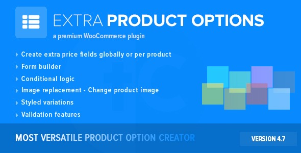 WooCommerce Extra Product Options Nulled