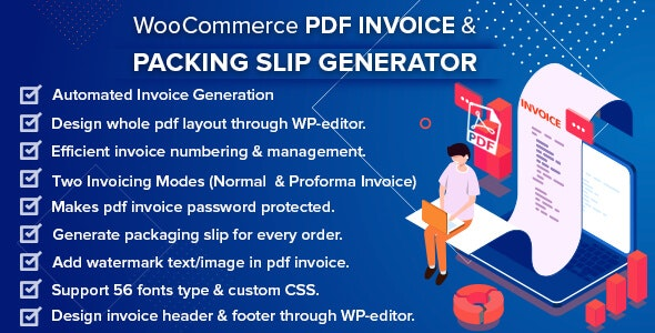 WooCommerce-PDF-Invoice-nulled-demo