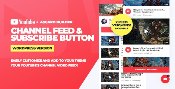 Youtube Chanel Feeds-Nulled-Download