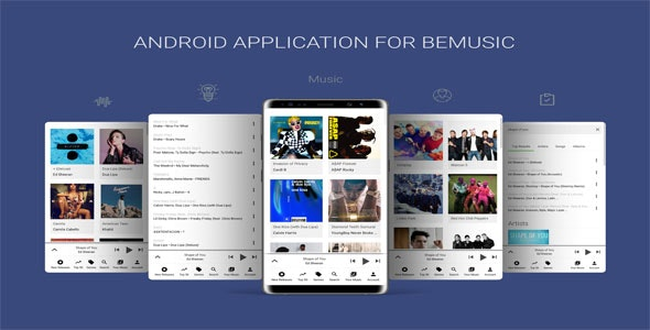 Android-Application-For-BeMusic-nulled-demo