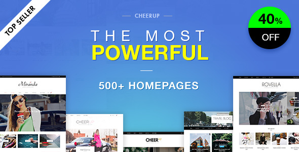 CheerUp-Blog-nulled-demo
