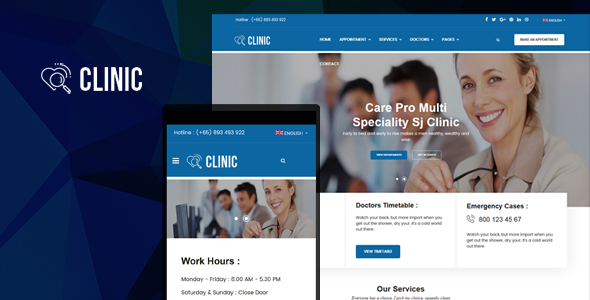 Clinic-nulled-download