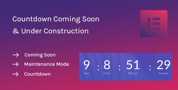 Coming-Soon-Widget-for-Elementor-nulled-download