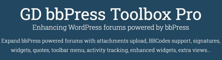 GD-bbPress-Toolbox-Pro-nulled-demo