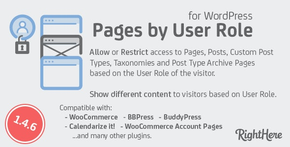 Pages-by-User-Role-nulled-download