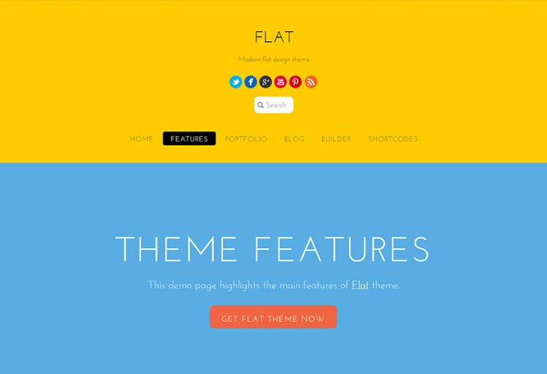 Themify-Flat-nulled-demo