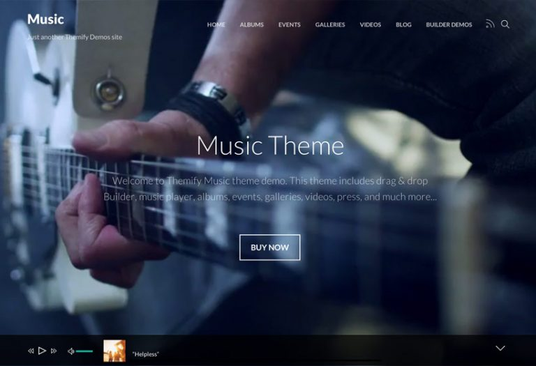 Themify-Music-nulled-demo