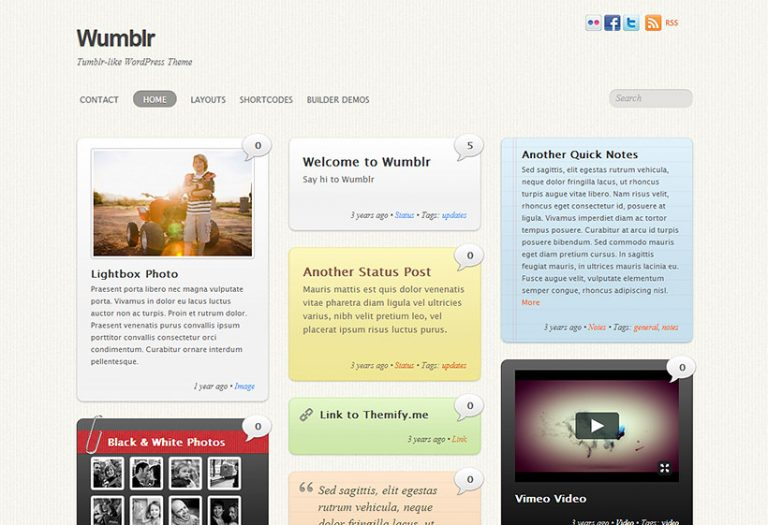 Themify-Wumblr-nulled-download