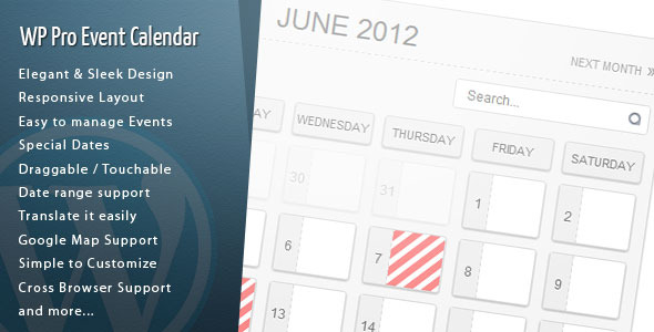 Wordpress-Pro-Event-Calendar-nulled-demo