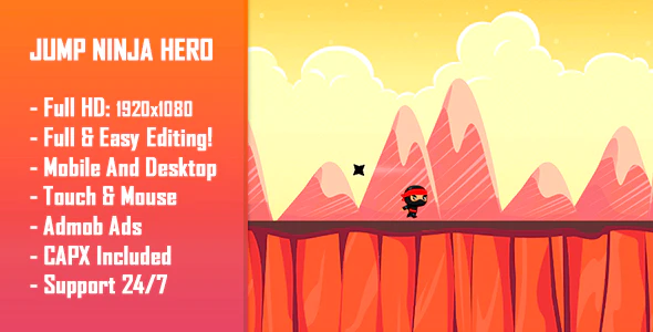 Jump-Ninja-Hero-nulled-demo