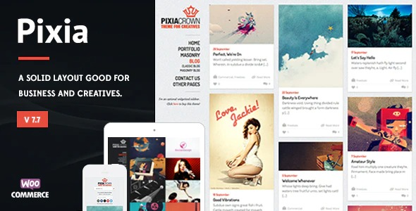 Pixia-Showcase-WordPress-Theme-Nulled-Download