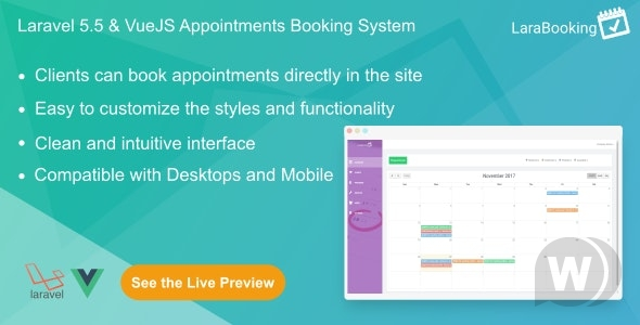 larabooking-nulled-download