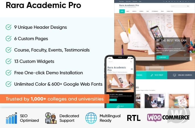 rara-academic-pro-nulled-download