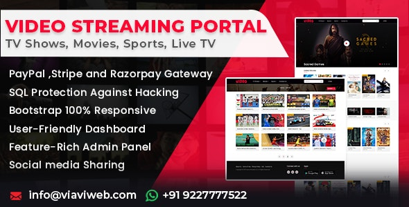 video_streaming-nulled-download