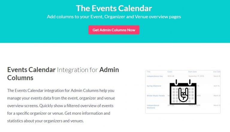 Admin-Columns-Pro-The-Events-Calendar-Addon-Nulled-download