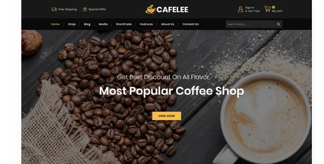Cafelee-Nulled-Download