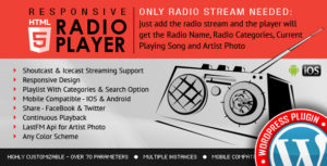 Radio-Player-Shoutcast&Icecast-WordPress-Plugin-nulled-download
