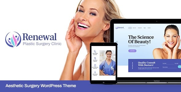 Renewal Nulled Plastic Surgery Clinic Medical WordPress Theme
