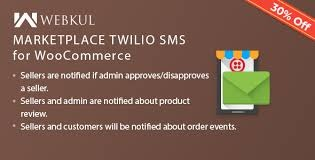 Webkul Market place Twilio SMS Notification Nulled