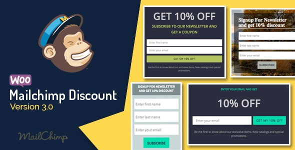 Woocommerce-Mailchimp-Discount-nulled-download