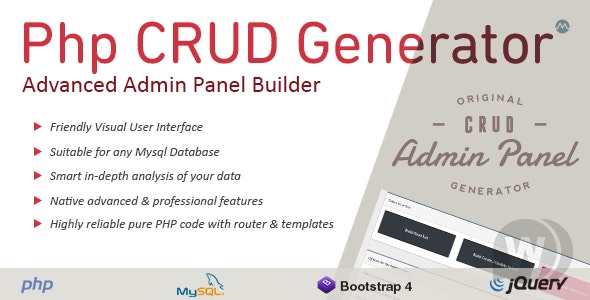 php-crud-generator-nulled-download